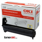 Tambor OKI C610 Amarillo 20k