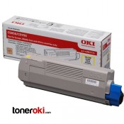 Toner OKI C610 Amarillo 6k