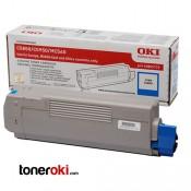 Toner OKI C610 Cyan 6k