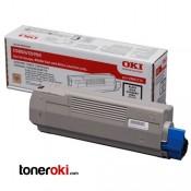 Toner OKI C610 Negro 8k