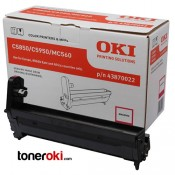 Tambor OKI MC560 Magenta 20k